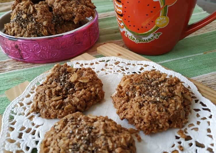 Oat Nutela Cookies (gluten free)