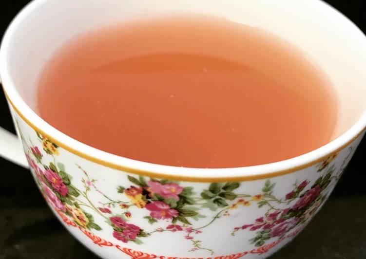 Recipe: Delicious Apple peel tea