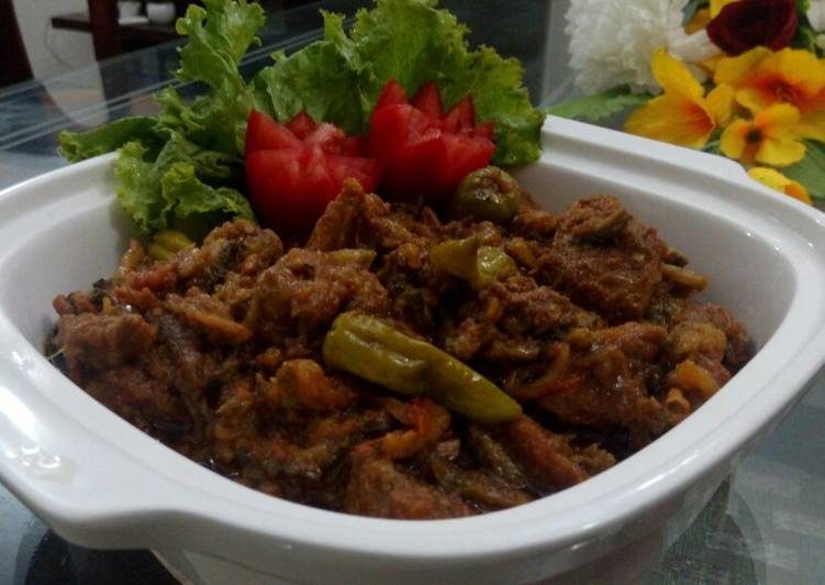 Steps to Prepare Homemade Karelay Gosht