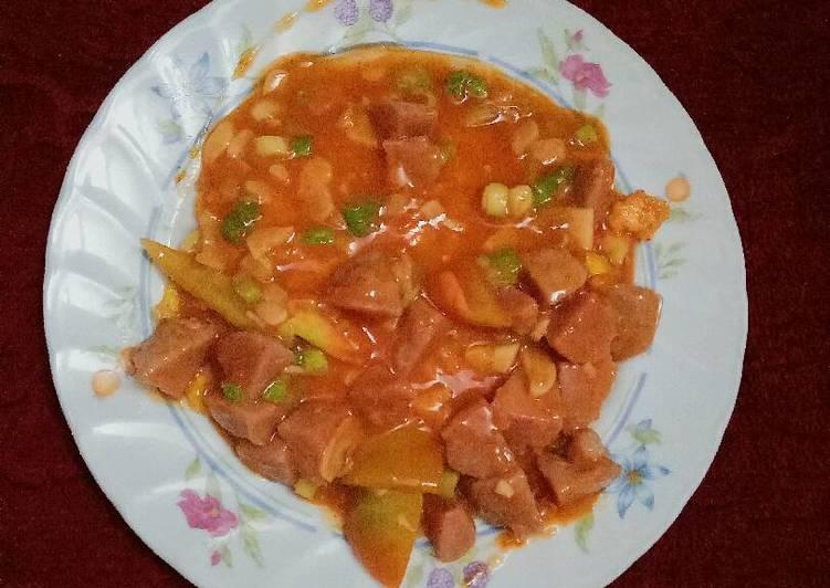 Fuyunghai Telur Pedas