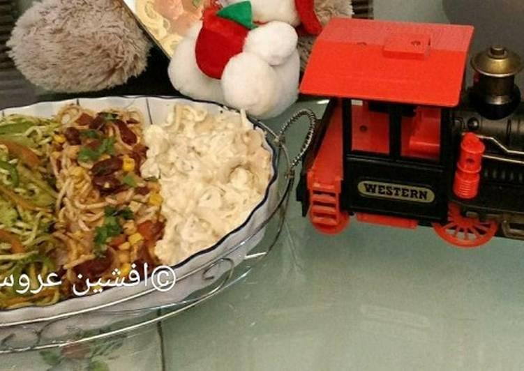 Easiest Way to Cook Tasty Spaghetti Salad Train