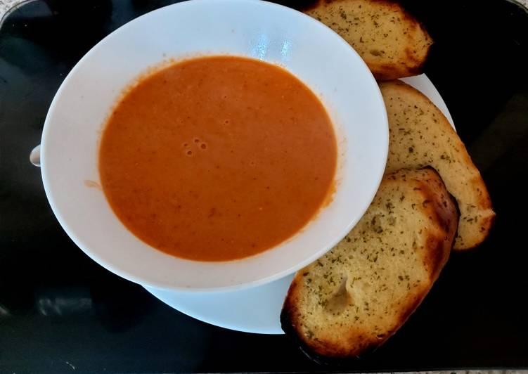 Recipe of Favorite My Creamy Tomato Soup 🤗🤗