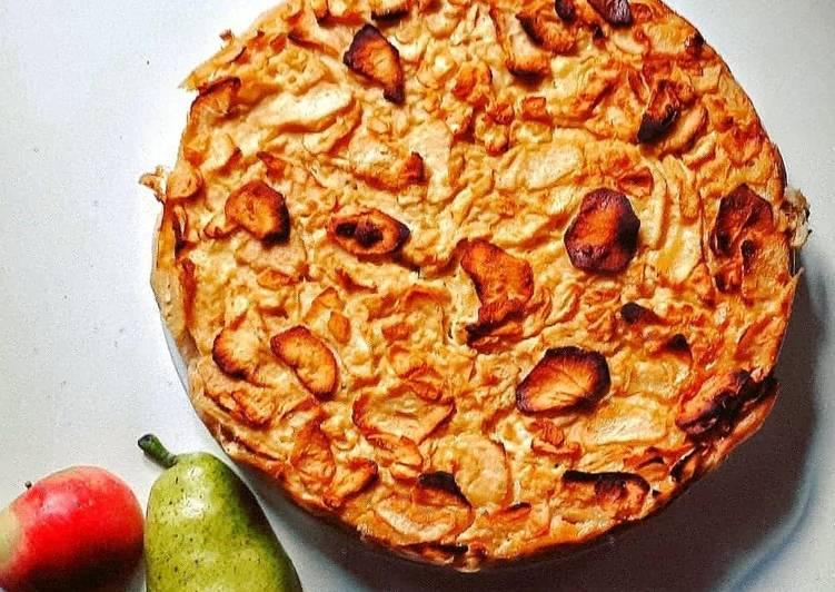 recette Invisible pommes-poires le délicieux