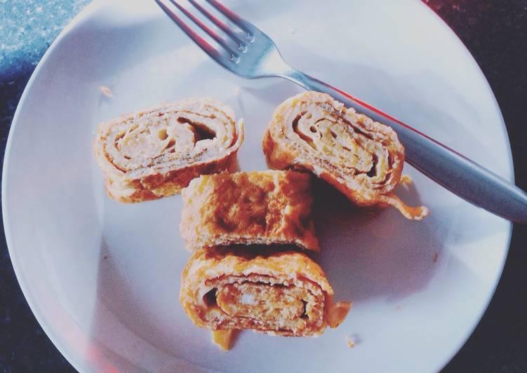 Recipe of Ultimate Sweet and Cheesy Tamagoyaki