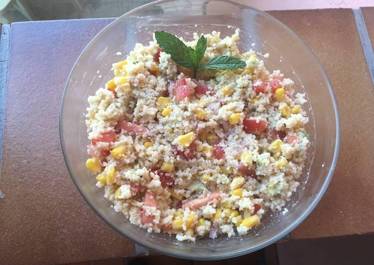 Salade de couscous Mamounette