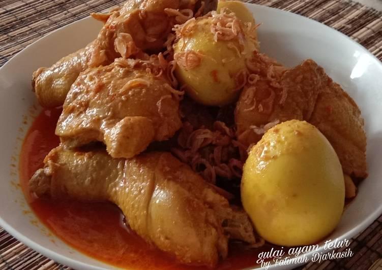 Gulai Ayam Telur