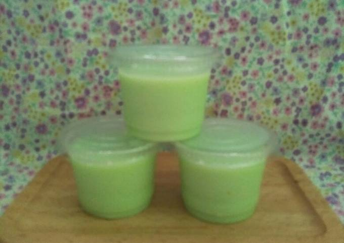 Silky puding melon