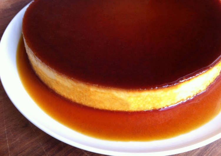 Easiest Way to Make Ultimate Creme Caramel