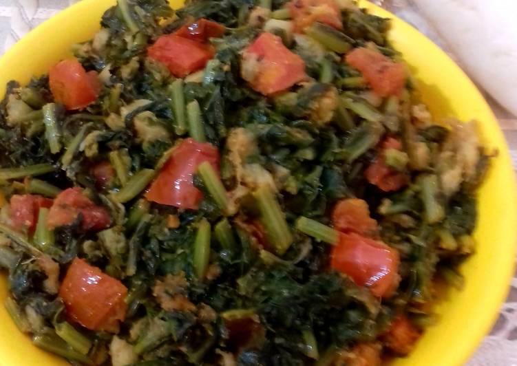 Easiest Way to Make Appetizing Radish Leaves Saag