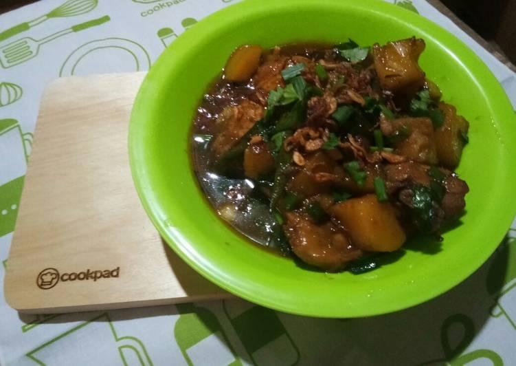 Resep Ayam Bistik Sederhana Oleh Ghiesha2609 Cookpad