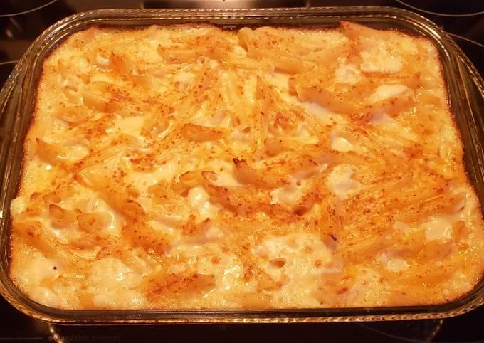 Recipe: Perfect Bechamel Pasta