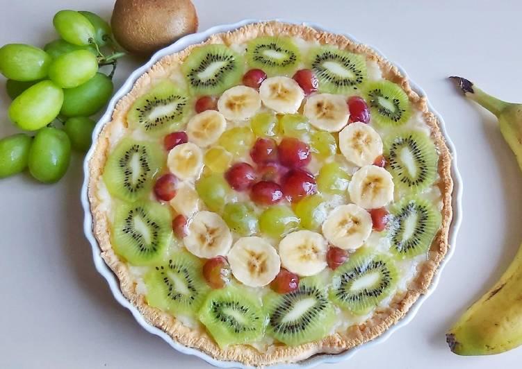 Crostata alla frutta senza glutine e senza lattosio