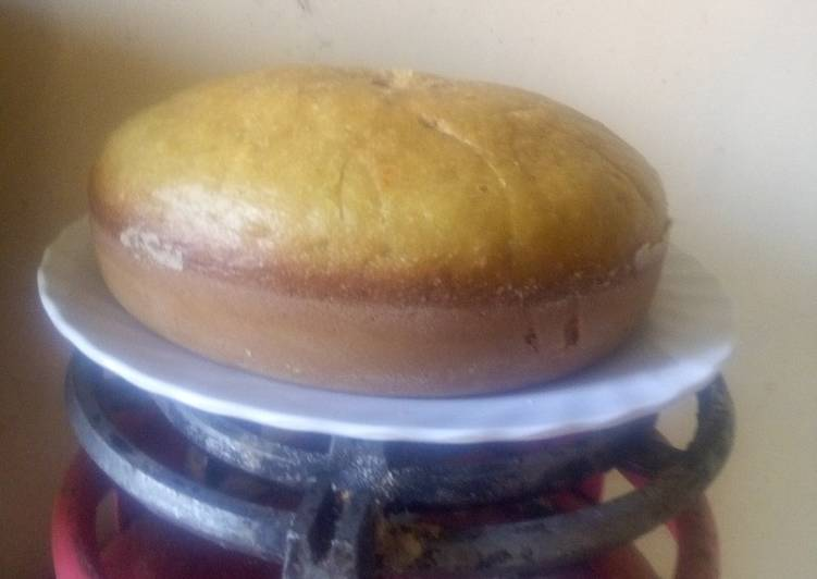 Lemon cake without butter and no oven