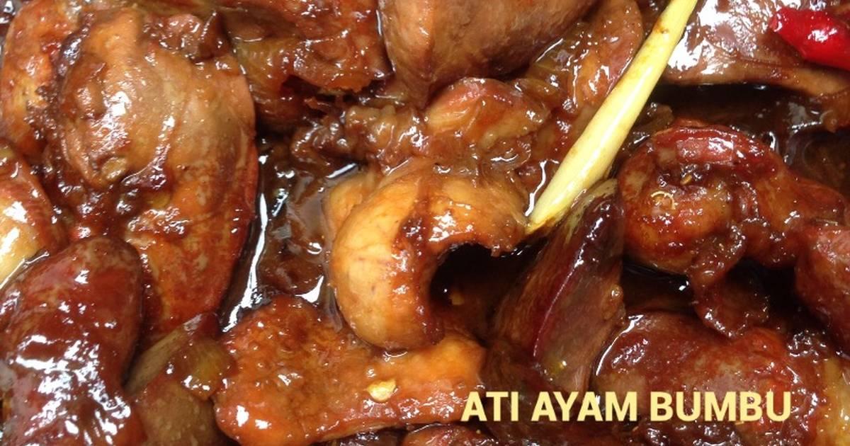 Resep Ati Ayam Bumbu Kecap Oleh Nopitas Cookpad