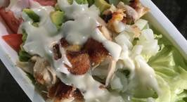 Hình ảnh món Salad bơ gà giảm cân