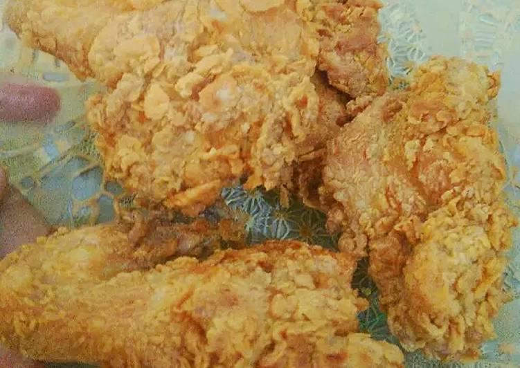 Cara Gampang Menyiapkan Ayam Goreng Kriuk Ala Kentucky, Bisa Manjain Lidah