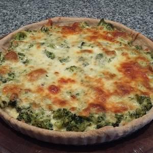 TARTA DE Brócoli con la receta de Masa de tarta salada sin manteca de Eli Miner