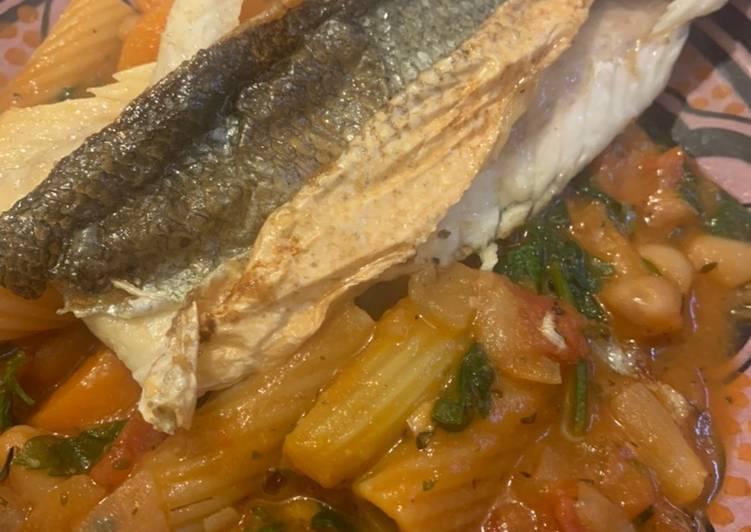 Recipe of Homemade Meal Prep: Fish, Bean, Vegetables
