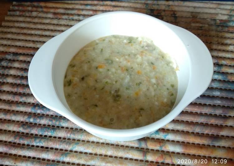 Nasi Tim Santan daging cincang (12month +)