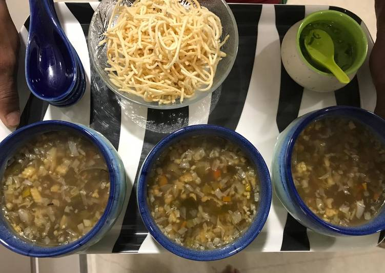 How to Cook Tasty Healthy veg Chinese soup