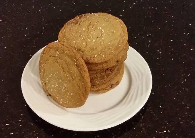 Salted Camel Milk Chocolate Chunk Cookies