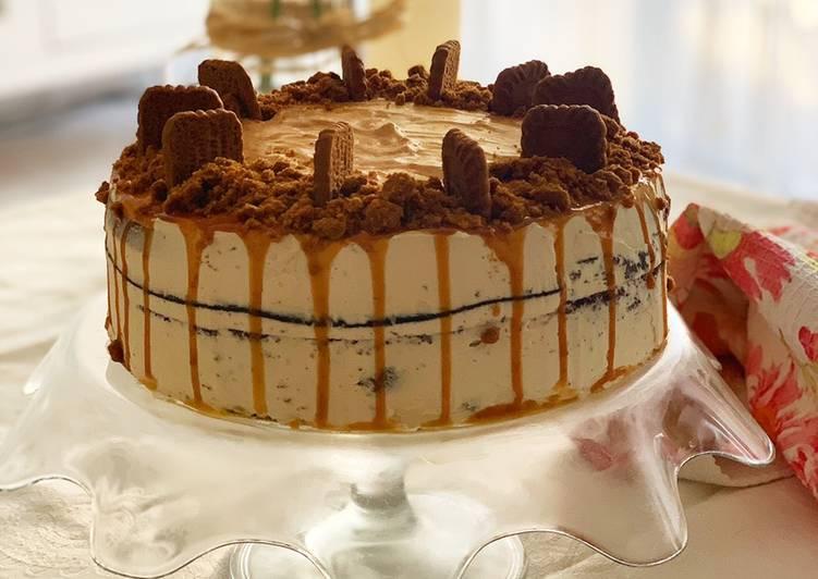 Tarta de chocolate y caramelo salado🍫🍫