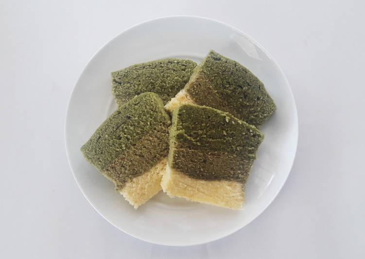 Bolu Lapis Green Tea Kukus