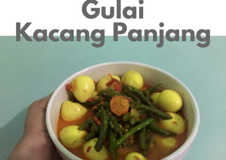 Gulai Kacang Panjang