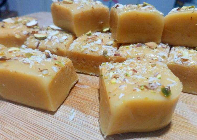 Recipe of Award-winning Milk Burfi/Milk Cake