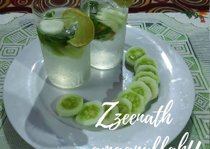 Virgin Cucumber and Mint Mojito