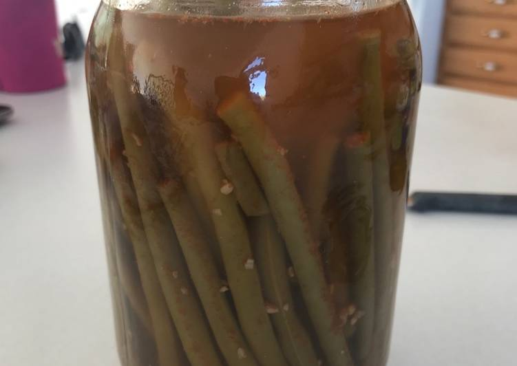 Step-by-Step Guide to Make Homemade Pickled spicy green beans