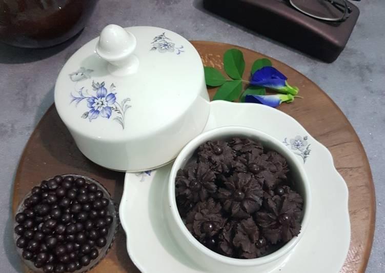 Semprit Kopi Coklat - cookandrecipe.com
