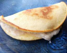 Simple Durian Pancake (pancake sederhana)