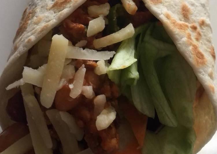 Recipe: Tasty Vegetables Burritos ?