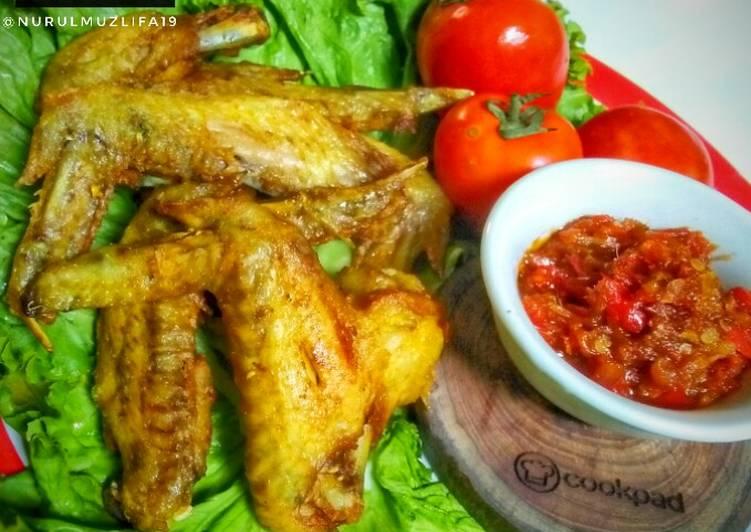 Ayam Goreng sambal Sere