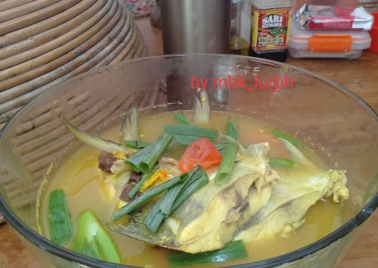 Resep Kuah Kunir Ikan Kuek Oleh Mbk Lu H Banyuwangi Cookpad