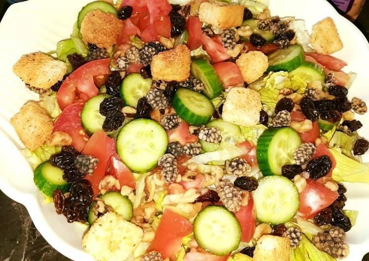 Easiest Way to Make Favorite Vegetarian Salad