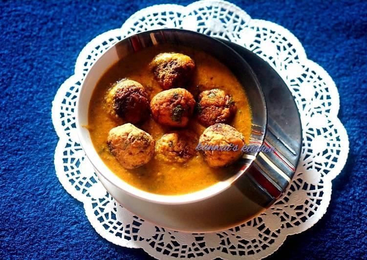 10 Minute Dinner Easy Special Cauliflower kofta curry