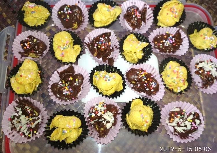 7. Corn flakes coklat / yellow