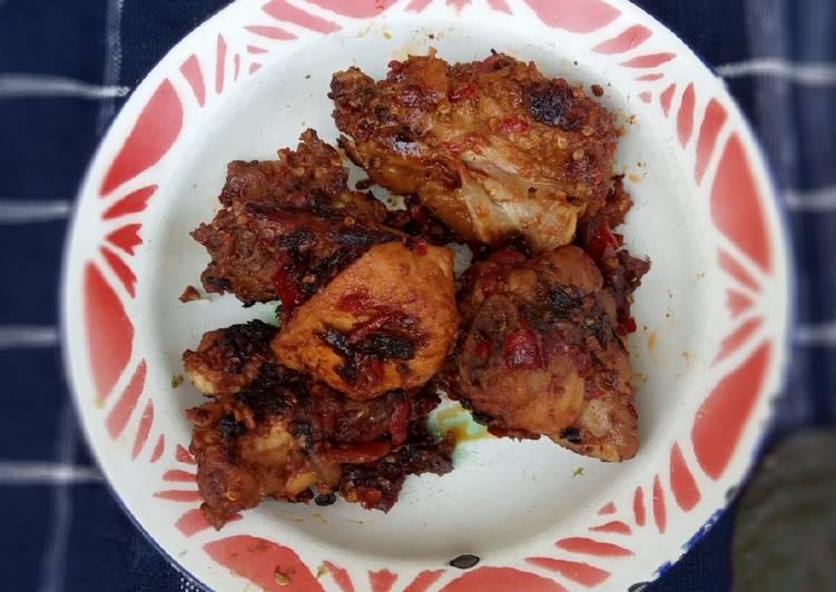 Resep 74. Ayam bakar taliwang Cepat