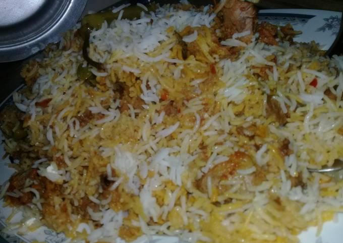 SpecialBeef Biryani #Kokab&Cookpad