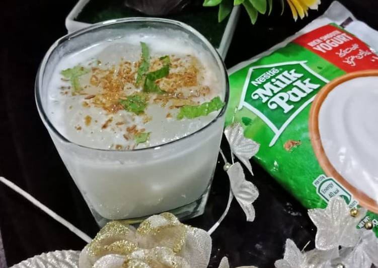 Step-by-Step Guide to Prepare Homemade 🌻🍶🌻 BUTTER MILK🌻🍶🌻  Chaas masala    #EIDMEETUP