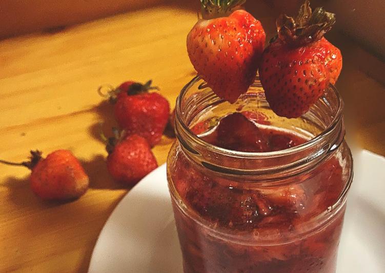 🍓Macerated Strawberries 🍓