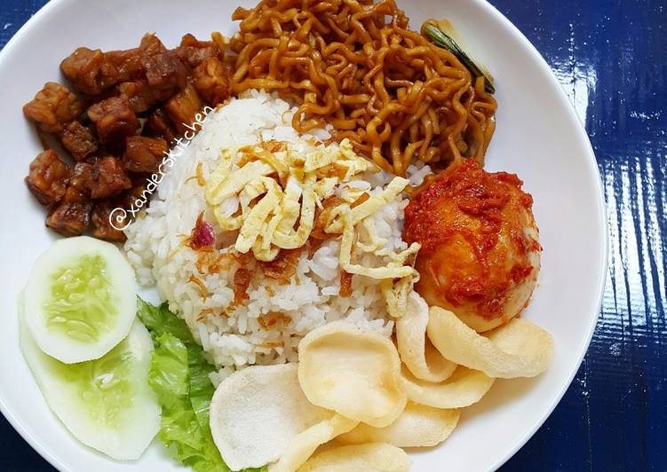 Resep Nasi Uduk Rice Cooker Oleh Xander S Kitchen Cookpad