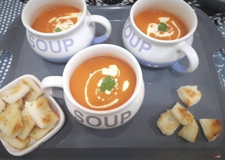 Recipe of Speedy Tomato soup🍅🍅