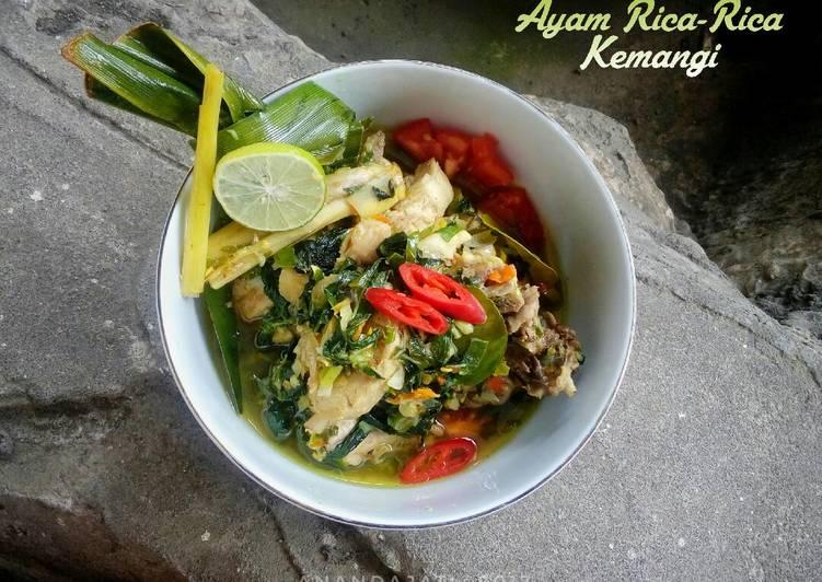 Resep Ayam Rica-Rica Kemangi Pedas Mudah