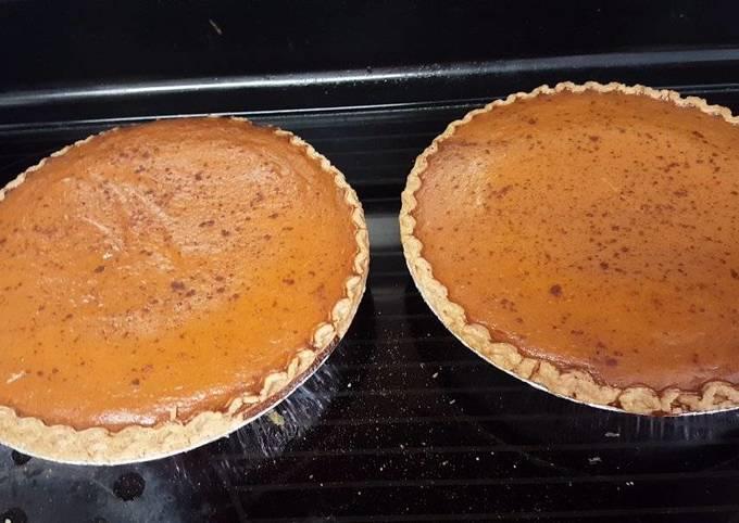 Recipe: Delicious Easy Peasy Pumpkin Pie