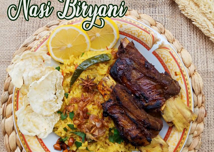 Resep Nasi Biryani/ Briyani Versi Beras Lokal Enak