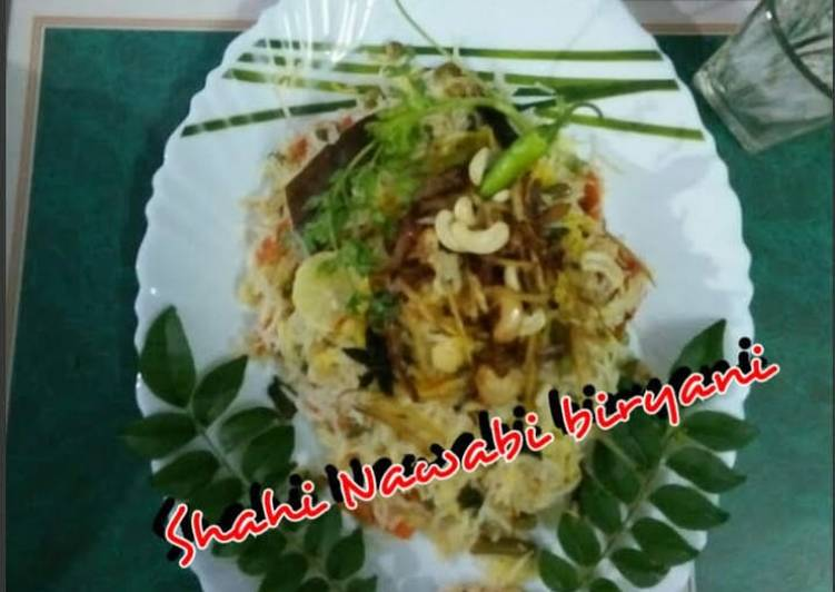 Shahi Nawabi pure veg. biryani