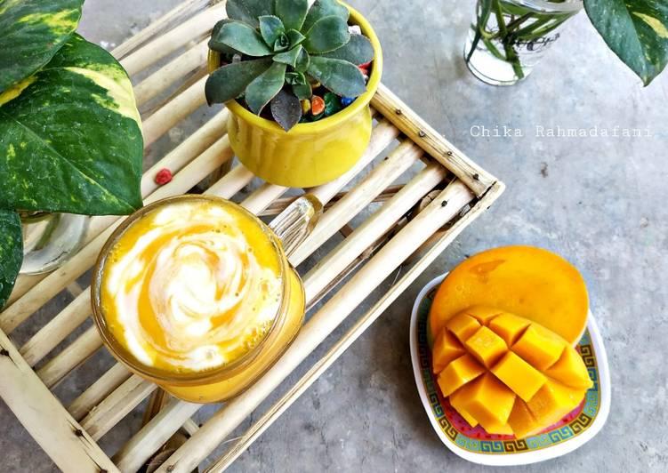 Mango Yogurt Drink